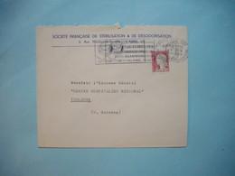 ENVELOPPE PUBLICITAIRE  - Société Française De Stérilisation  -  Rue Banville  -  PARIS  -  1964 - Marcophilie (Lettres)
