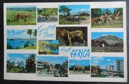 AFRIQUE KENYA GREETINGS FROM EAST AFRICA - Kenya