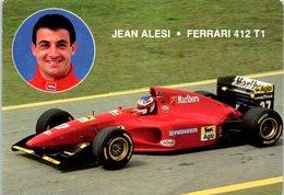 Automobile - Sport - Jean ALESI - Ferrari 412 T1 - Cartes Postales