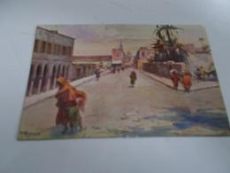 B698  Tripoli 14x9 Cm Mercato Del Pesce Non Viaggiata - Libya