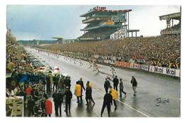 24h Du Mans - Le Départ - Circulé Cachet 24 Heures - 1969- Jipé - Le Mans