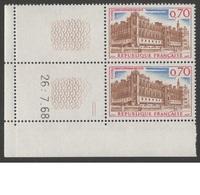 FRANCE 1966-1967  N°YT 1501 **  Paire Et  Coin  Daté  27.6.68 /  Chateau De Saint-Germain En Laye  /    MNH - Frankrijk