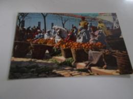 B698  Tripoli 14x9 Cm Mercato Dela Frutta No Viaggiata - Libya