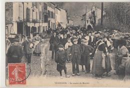 VICDESSOS                    LE CENTRE DU MARCHE - Otros Municipios