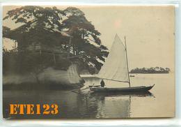 Post Card  - JAPON - Japan - Matsushima - Photo D'une Jonque - Voilier -  Matsushima - Japon