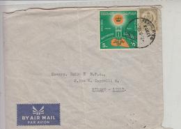 LIBIA  1964 - Yvert  153-215 - Letttera Per Italia - Libia