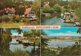 D-29456 Hitzacker - Luftkurort - Elbe - Anleger - Schiffe - Hitzacker