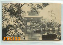 Post Card  - JAPON - Japan - Photo D'un Temple Sous La Neige - Japon