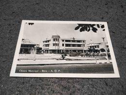 ANTIQUE PHOTO POSTCARD AFRICA PORTUGAL MOZAMBIQUE - BEIRA - CAMARA MUNICIPAL USED NOT CIRCULATED 1957 - Mozambique