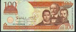 Dominican Republic P177a 100 PESOS  2006  # RX   UNC. - Dominicaine