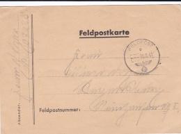 German Feldpost WW2: Attacking Toward Kiev - 13. Kompanie Infanterie-Regiment 41 FP 07028 P/m  30.8.1941 - Plain Postcar - WO2