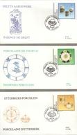 "BELG.1994 2566 2567 & 2568 FDC 's (Leuven) : "" Emission Culturelle / Culturele Uitgifte "" - 1981-90"