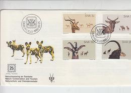 SWA  1980 - FDC - Fauna - FDC