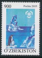 UZBEKISTAN 2010, IPY International Polar Year - Preserve The Polar Regions And Glaciers 1v** - Preservare Le Regioni Polari E Ghiacciai