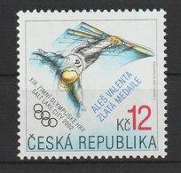 MiNr. 313 Tschechische Republik / 2002, 30. Jan. Olympische Winterspiele, - Tschechische Republik