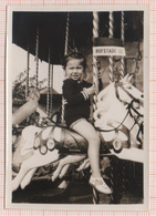 HOFSTADE Baden Bains Rijksdomein MEISJE OP HOUT PAARD Petite Fille Cheval De Bois Carrousel Draaimolen Foto Photo Zemst - Zemst