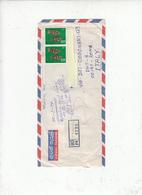 SRI LANKA  1979 - Yvert  449  (pesci)-- Raccomandata - Sri Lanka (Ceylon) (1948-...)