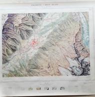 Carte Topographique Chamonix Mont-Blanc N°5 Sud 1950 - Cartes Topographiques