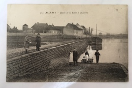 Allerey-Quais De La Saône à Chauvort - Frankrijk
