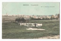 Bertrix Vue Générale Carte Postale Ancienne - Bertrix