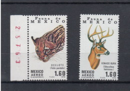 Mexico (AK) Michel Cat.No.   Mnh/** 1605/1606 - Mexique