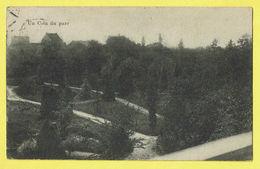 * Onze Lieve Vrouw Waver (Antwerpen - Anvers) * (E & B) Institut Des Ursulines, Un Coin Du Parc, Jardin, Park, Rare, Old - Sint-Katelijne-Waver