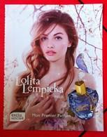 Lolita Lempicka - Publicité - Mon 1er Parfum - Cartes Parfumées