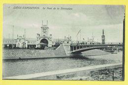 * Liège - Luik (La Wallonie) * (Th. Van Den Heuvel, Nr 3) Exposition, Expo, Le Pont De La Dérivation, Canal, Quai, Brug - Liege