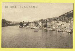 * Dinant (Namur - Namen - La Wallonie) * (PIB - P.I.B.) Rive Droite De La Meuse, De Maas, Canal, Quai, Bateau, Old, Rare - Dinant