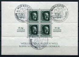 41995) DEUTSCHES REICH Block 11 Gestempelt Aus 1937, 60.- € - Deutschland