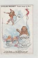 Cyclisme;calendrier De Poche - Publicité Cycles ROCHET à ALBERT (80) & Paris,Lions Au Cirque - 1907 - Kalenders