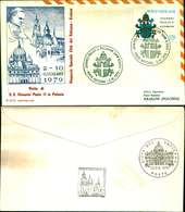 9661a)F.D.C.  S.S GIOVANNI XXIII IN VISITA IN POLONIA 2-6-79 - FDC