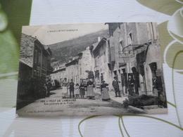 CPA  07 Ardèche  Pont De Labeaume Rue Centrale Et La Poste    BE - Francia