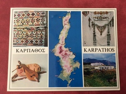 Greece  Griekenland  Grèce. Karpathos 1992 - Greece