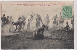 Haute Guinee Voyage  Du Ministre Des Colonies A La Cote D'afrique Guinee  Fetes De Mamou La Danse Du Feu - Frans Guinee