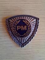 Police- Macedonia - The Old ORIGINAL Badge -Republic Of Macedonia - Polizei