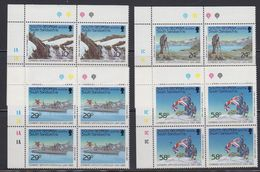 South Georgia 1989 Combined Services Expedition 4v Bl Of 4 (corners) ** Mnh (40953A) - Zuid-Georgia