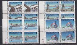 South Georgia 1989 Combined Services Expedition 4v Bl Of 4 ** Mnh (40953B) - Zuid-Georgia