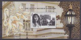 South Georgia 1999 Queen Mother's Century M/s  ** Mnh (40953D ) - South Georgia