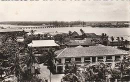 Dahomey COTONOU La Lagune Et Le Pont De La Route De Porto-Novo 998J - Dahomey