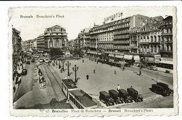CPA - Carte Postale -BELGIQUE - Bruxelles - Place De Brouckère  S2788 - Places, Squares