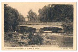 SERMAIZE Les BAINS  51  Le Pont De Bréville .1938. - Sermaize-les-Bains