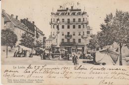 Le Locle- Place, Immeuble La Confiance - NE Neuchâtel