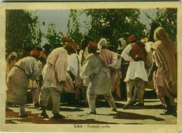 LIBIA / LIBYA - FANTASIA ARABA - DANCERS - EDIZ. CALANDRINO 1940s  (BG566) - Libya