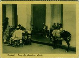 LIBIA / LIBYA - BENGASI / BENGHAZI - SCENE DEL QUARTIERE ARABO - EDIZ ALTEROCCA 1941 (BG567) - Libya