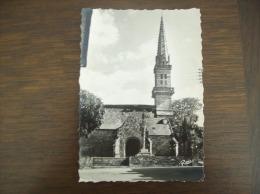 Carte Postale Ancienne De Gouézec: L'Eglise - Gouézec
