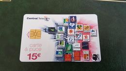 Telecarte Central Télécom 15€ - 2014-...