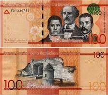 DOMINICAN REP.       100 Pesos Dominicanos      P-190[c]       2016      UNC - Repubblica Dominicana