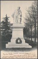 Monument Vinet, Lausanne, Vaud, 1902 - Jullien Frères CPA - VD Vaud