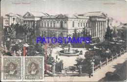 101587 CHILE SANTIAGO CONGRESO NACIONAL CIRCULATED TO ARGENTINA POSTAL POSTCARD - Chile